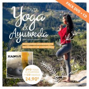 DVD Yoga et Ayurveda avec Cécile Doherty Bigara + CD Hangji «The Odyssey»