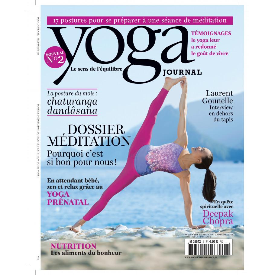 yoga journal numero 2 le magazine de reference du yoga. Black Bedroom Furniture Sets. Home Design Ideas