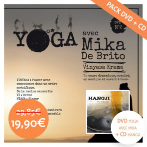 DVD de Yoga Vinyasa avec Mika de Brito + CD Hangji «The Odyssey»
