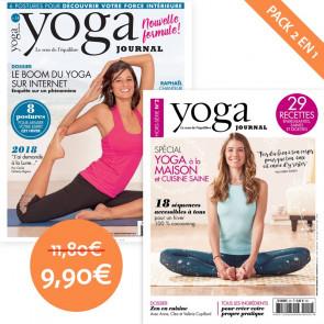 Pack Yoga Journal n°14 + Hors série n°2