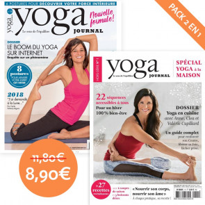 Pack Yoga Journal n°14 + Hors série n°1