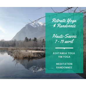 Perfectionnement ou découverte de la pratique de l'Ashtanga Yoga et du Yin Yoga du 7 au 13 Avril 2018