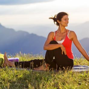 """"""" Yoga & dévotion """" avec Ariane Albecker aux jardins du Nant du 7 au 14 juillet 2018"""