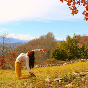Retraite Yoga avec Cécile Doherty-Bigara du 19 au 21 octobre 2018 à la Chrysalide