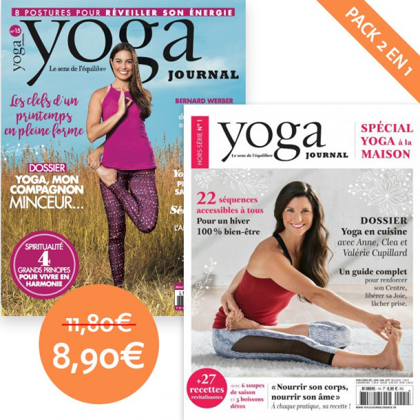 Pack Yoga Journal n°15 + Hors série n°1