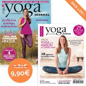 Pack Yoga Journal n°15 + Hors série n°2