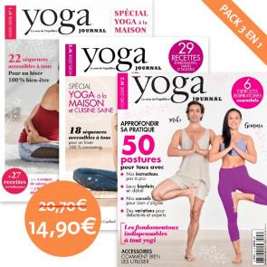 Pack Yoga Journal 3 numéros hors série