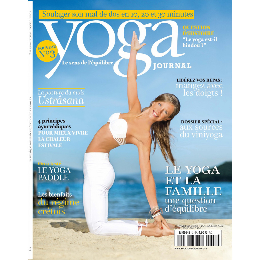 yoga journal numero 3 le magazine de reference du yoga. Black Bedroom Furniture Sets. Home Design Ideas