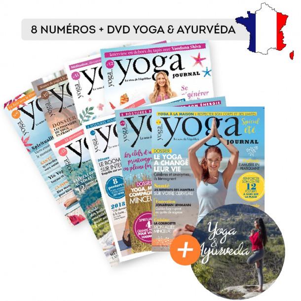 Abonnement FRANCE 8 numéros + DVD Cécile DOHERTY BIGARA