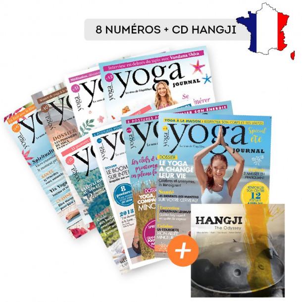 Abonnement FRANCE 8 numéros + CD Hangji