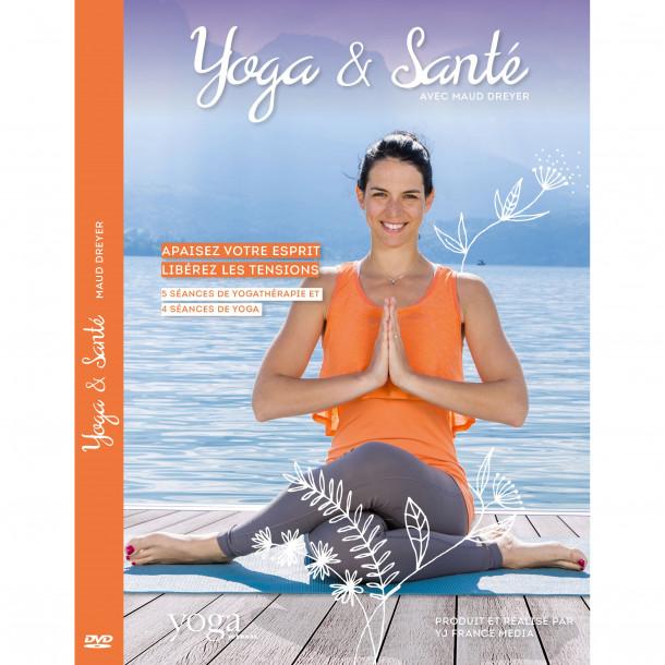 DVD yoga et santé avec Maud Dreyer