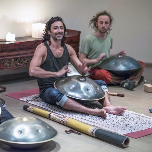 Stage de Yoga et Immersion sonore by Hangji avec Mika De Brito le 20 et 21 octobre 2018 au Domaine du Taillé