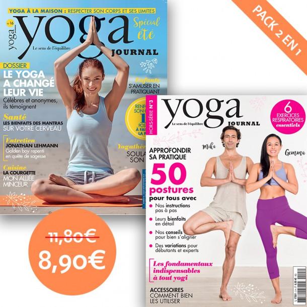 Pack Yoga Journal n°16 + Hors série n°3