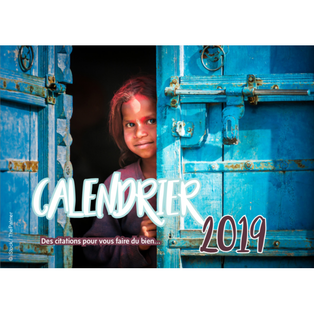 Calendrier 2019 Citations - Yoga Journal