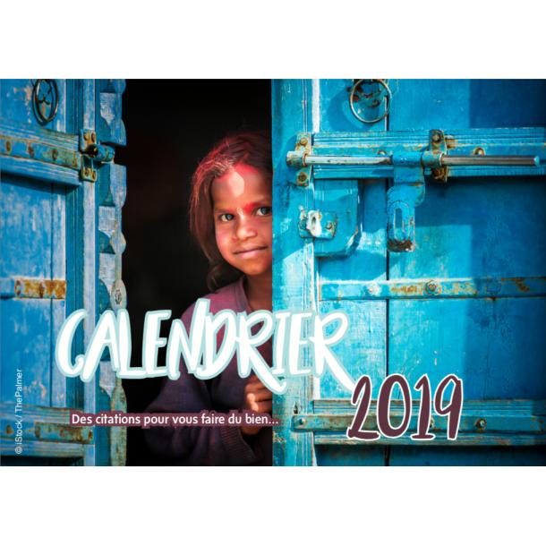 Calendrier 2019 Citations - Yoga Journal