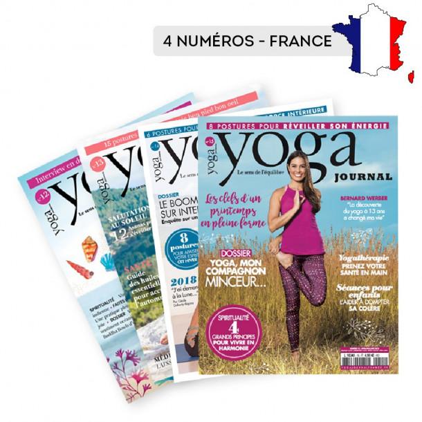 Abonnement FRANCE 4 numéros