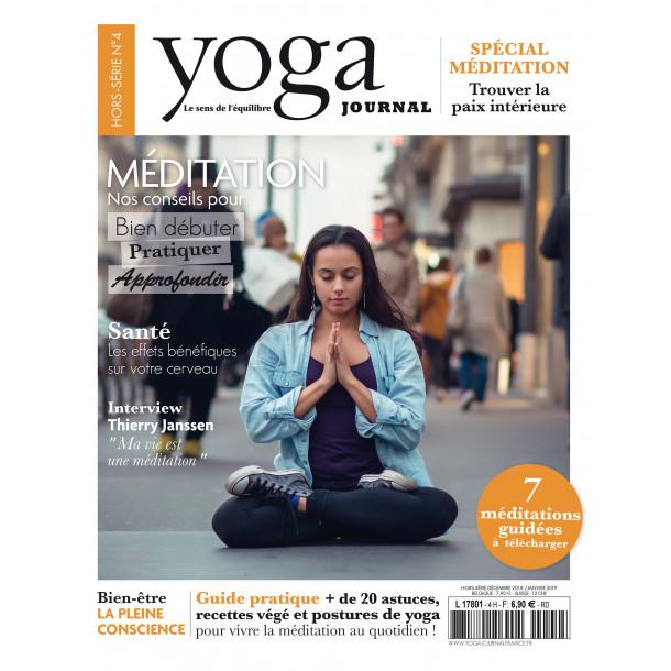Yoga Journal Hors série N°4 spécial Méditation