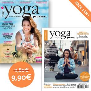 Pack Yoga Journal n°17 + Hors série n°4