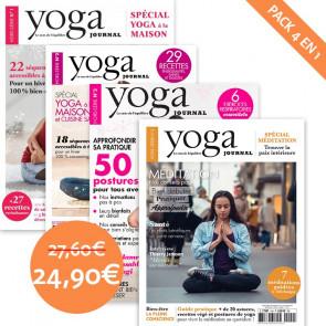 Pack Yoga Journal 4 numéros hors-série