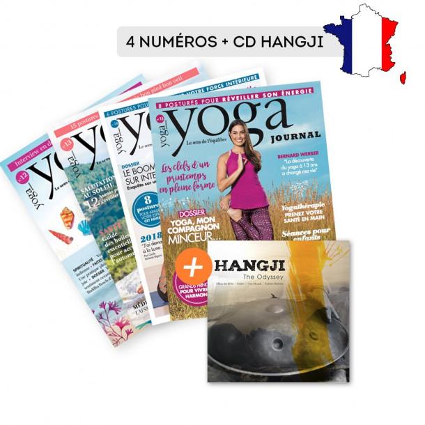 Abonnement FRANCE 4 numéros + CD Hangji