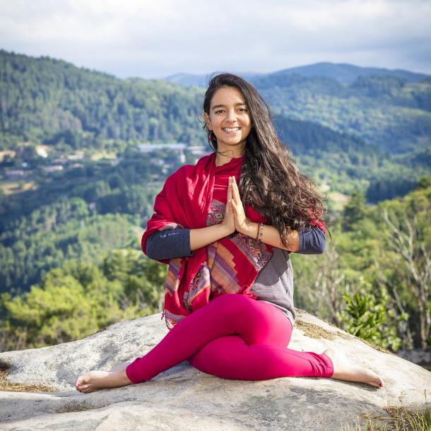 Retraite Yoga du 15 au 20 juillet avec Cécile Doherty-Bigara au Domaine du Taillé