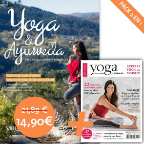 Pack DVD Yoga et Ayurvéda avec Cécile Doherty-Bigara et Hors-série n°1