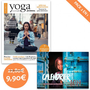 Pack Yoga Journal HS 4 + calendrier citations