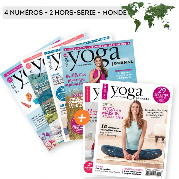Abonnement MONDE 4 numéros + 2 Hors-Séries