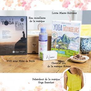 "Ma box ""Love & Yoga"" by Yoga Journal de février - Yoga Journal France"