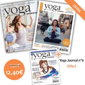Pack Yoga Journal n°18 et Hors série n°4 + YJ n°6 offert