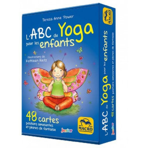 ABC du Yoga pour les enfants - 48 cartes - Jeu