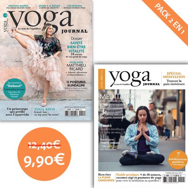 Pack Yoga Journal n°19 + Hors-série n°4