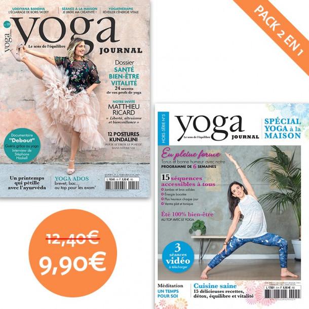 Pack Yoga Journal n°19 + Hors-série n°5