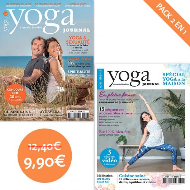 Pack Yoga Journal n°20 + Hors-série n°5