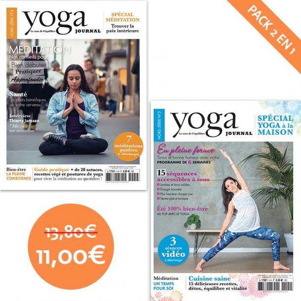 Pack Yoga Journal Hors-série n°4 + Hors-série n°5