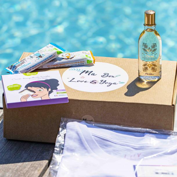 """La box """"Love & Yoga"""" Douceur d'été - Yoga Journal France"""