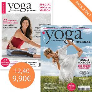 Pack Yoga Journal n°21 + Hors série spécial yoga à la maison