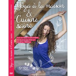 DVD Yoga à la maison et Cuisine saine avec Sandra Insoha, Clea et Anne Piovesan