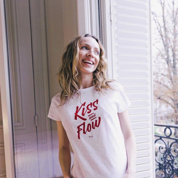 T-Shirt en coton YUJ Kiss & Flow
