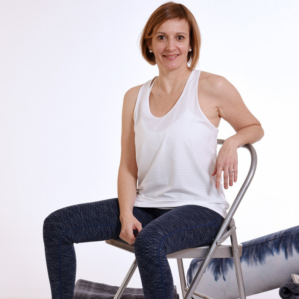 Stage de yoga restauratif du 6 au 8 novembre en Isère avec Audrey Favreau