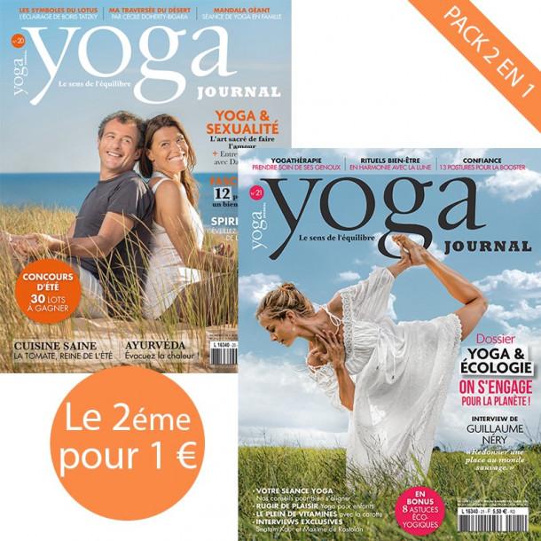 Pack Yoga Journal n°20 + n°21