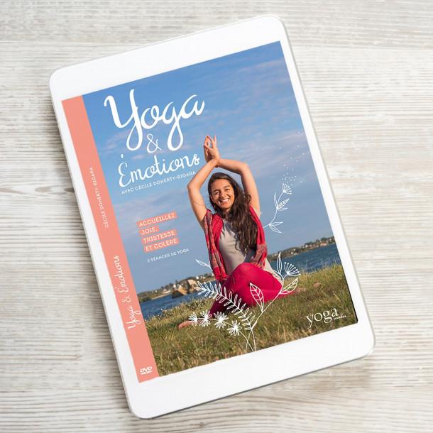 Film à télécharger Yoga et Émotions avec Cécile Doherty Bigara