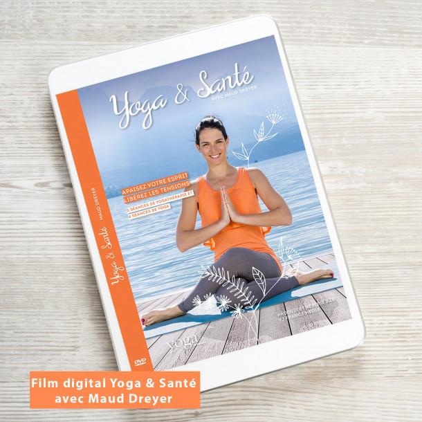 Film a télécharger Yoga et Santé avec Maud Dreyer