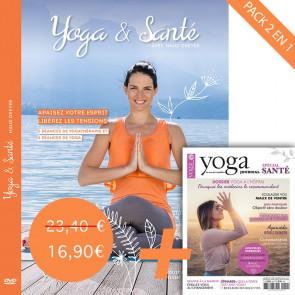 Pack DVD Yoga et Santé et Yoga Journal N°22