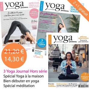 Pack Yoga Journal  Hors série n°4 + 5 + 6