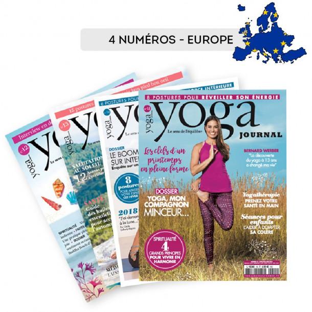 2 Abonnements EUROPE 4 numéros Nouvelle formule