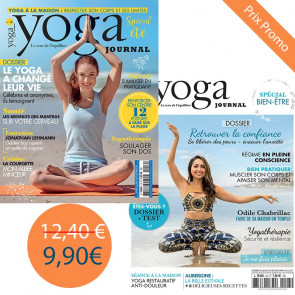 Pack Yoga Journal n°16 +  yoga journal 23 spécial bien-être