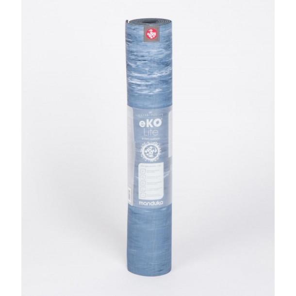Tapis de Yoga Manduka Ekolite® - 4mm bleu rayé