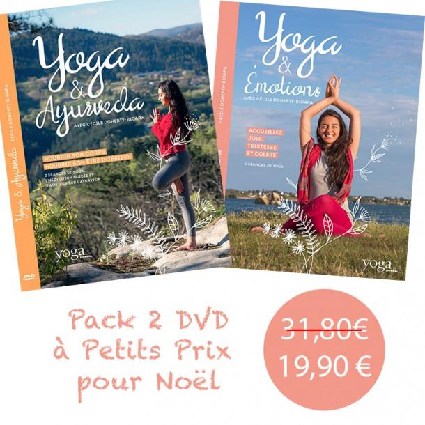 Pack 2 DVD avec Cécile Doherty Bigara à petit prix