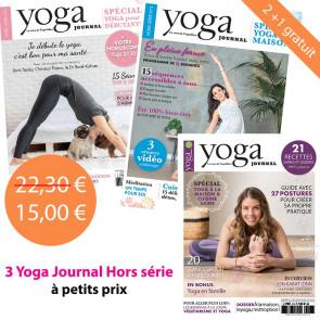 Pack Yoga Journal  Hors série2+1 gratuit HS N°5,6,7